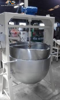 Tacho para doces em aço inox capacidade 300 litros