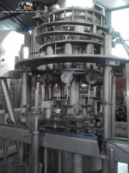 Envasadora rotativa 10 cilindros Mesal