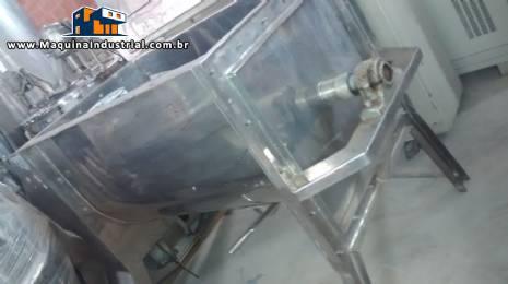Misturador de pás 300 L em inox Imarvil