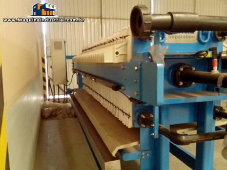 Filtro prensa Andritz