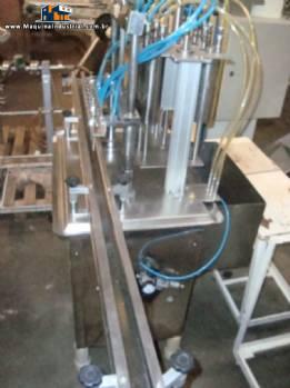 Envasadora linear 6 bicos em aço inox