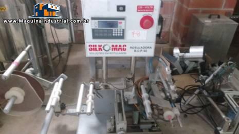 Rotuladora semi automática Silk Mac