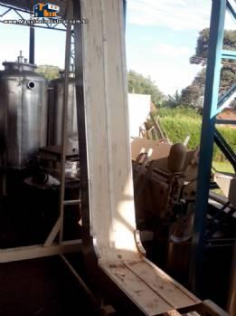 Esteira transportadora / alimentadora em aço inox