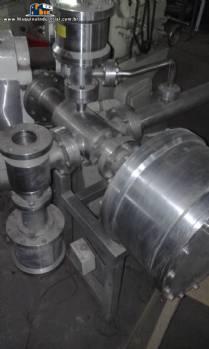 Sistema de transporte para fluidos em inox