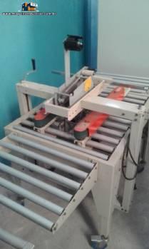 Fechadora seladora de caixa com fita