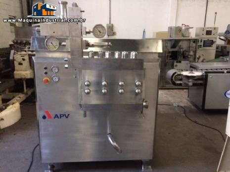 Homogeneizador em inox APV