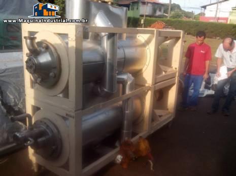 2 Sistemas de raspadores de frio para produção de gelados