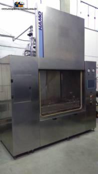 Lavadora industrial peças vidraria Hamo