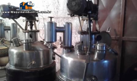 Tacho / Reator / Buller aço inox 300 kg