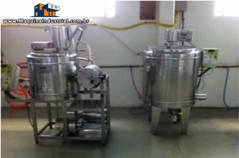 Linha para fabricação de alimentos fermentados a base de soja